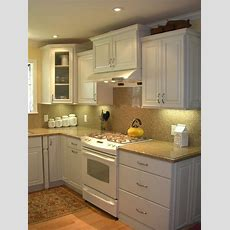 Small White Kitchen West San Jose, Ca  Traditional