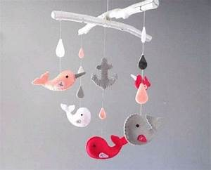 Mobile Pour Bébé : de jolis mobiles pour la chambre de b b laurence pernoud ~ Teatrodelosmanantiales.com Idées de Décoration