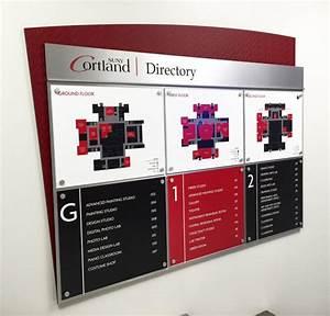 Cortland Interior Design Educational Signage University College Signage Takeform