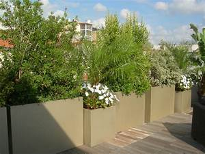 Jardinière Brise Vue : creer un brise vue bacs et jardins ~ Premium-room.com Idées de Décoration