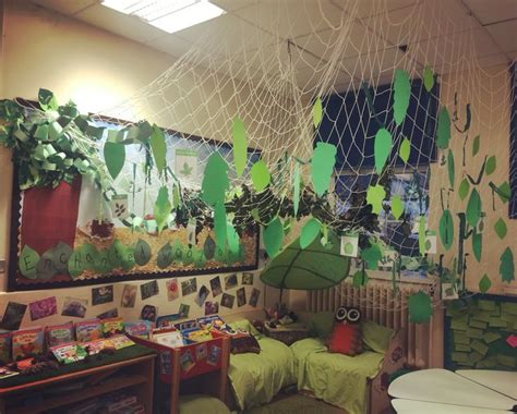 reading corner woodland forest school ks