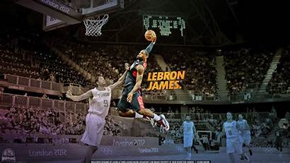 Lebron Dunk James Wallpapers Nba Basketball Slam