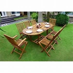 Carrefour Table Jardin : table de jardin en teck carrefour ~ Teatrodelosmanantiales.com Idées de Décoration