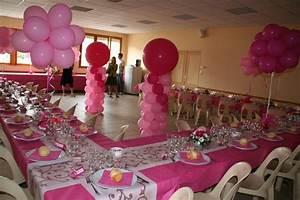 Decoration Pour Bapteme Fille : d coration ballons bapt me devis sur demande ~ Mglfilm.com Idées de Décoration