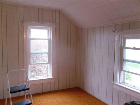 painting interior wood paneling loccie better homes