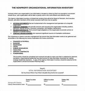 sample succession plan template 9 free documents in pdf With nonprofit succession planning template