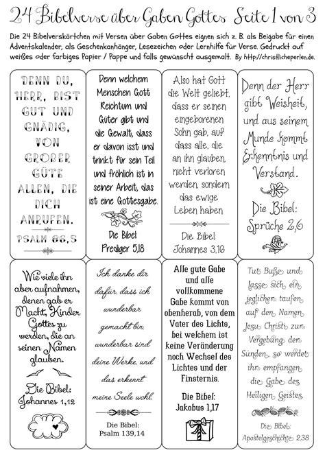 24 Bibelverse Z B Für Einen Adventskalender