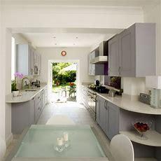 Galley Kitchen  Kitchen Design  Decorating Ideas