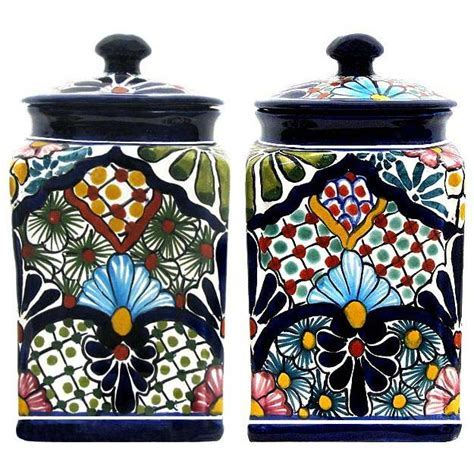 Talavera Kitchen Canisters Collection   Talavera Kitchen