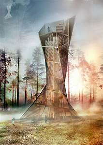 New, Typology, In, Tower, Design, Lookout, Tower, By, Ap, Architecture
