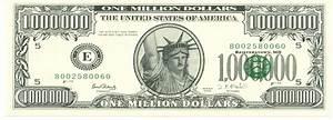 best photos of million dollar bill template blank dollar With million dollar bill template