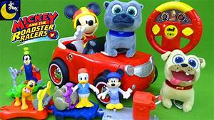 Lots of Mickey and the Roadster Racers Toys and Puppy Dog ...
