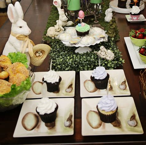rustic easter table setting easter decor
