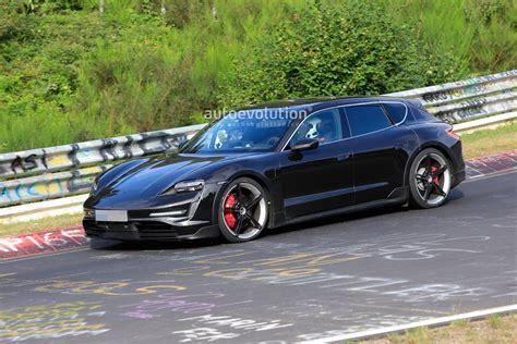 Porsche Taycan Cross Turismo Runs the 'Ring Cause It Has ...