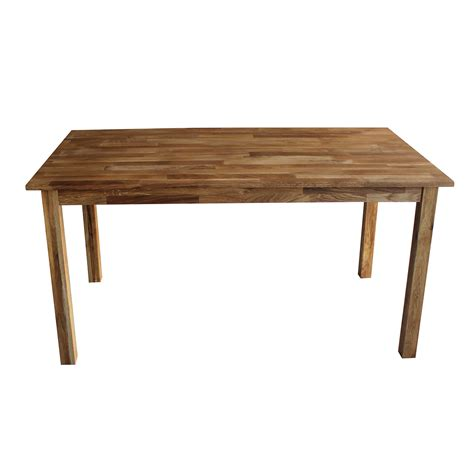 Charles Bentley Solid Oak 6 8 Seater Wooden Dining Table