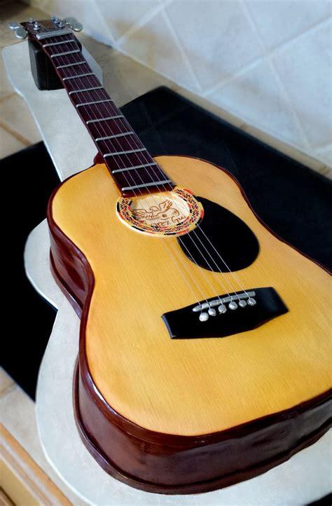 gitarre backen deko ideen   gitarren kuchen