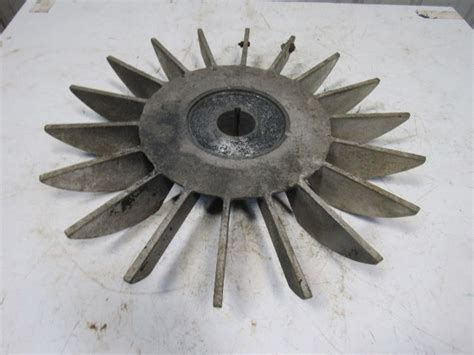 cast aluminum electric motor cooling fan blade