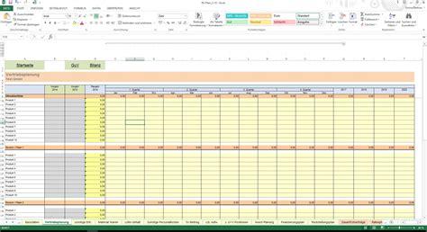 excel tool rs plan unternehmensplanung planbilanz