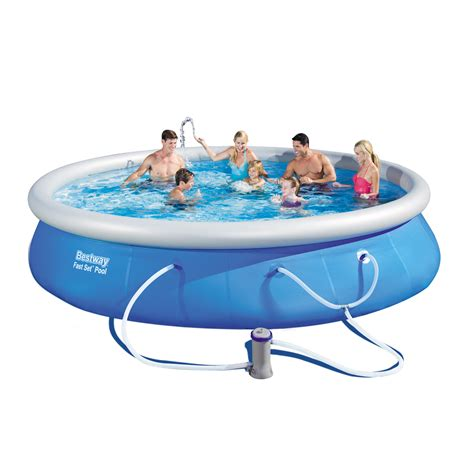 bestway fast set pool set  feet   inches contents