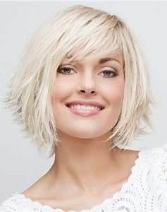 Coupe Cheveux Tete Ronde : coupe de cheveux femme tete ronde ~ Melissatoandfro.com Idées de Décoration