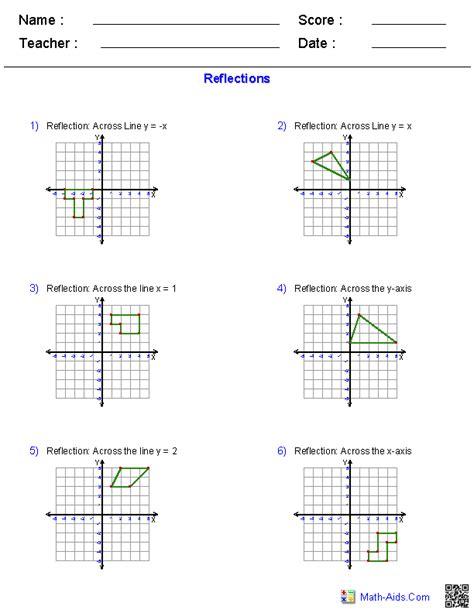 geometry worksheets  images geometry worksheets