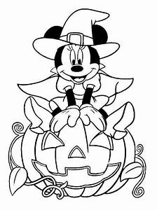Cute Disney Halloween Coloring Pages – Festival Collections