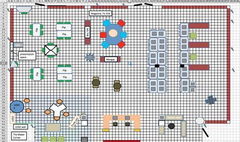 floor plans excel template how to create a floorplan of your space in excel renovated learning