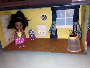 Comment Faire Une Maison : comment fabriquer une maison de poup e portable boite ~ Dallasstarsshop.com Idées de Décoration
