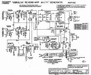 Fender Vibrolux Reverb Aa270 Rev F Sch Layout Service