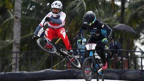 dua pembalap indonesia menangi balap sepeda bmx