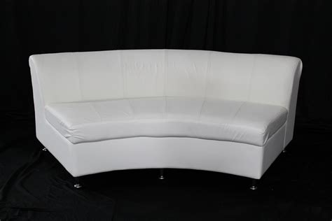 round loveseat with ottoman bogota curved loveseat event rentals in atlanta event