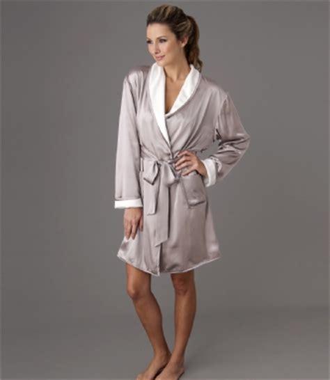 robe de chambre en soie robe de chambre croisee en soie il cieli spa insilk soie