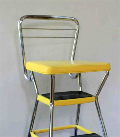 Cosco Step Stool Chair Black by Vintage Cosco Step Stool Chair Decor Ideasdecor Ideas