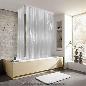 Rideau Salle De Bain : rideau baignoire rigide ~ Dailycaller-alerts.com Idées de Décoration