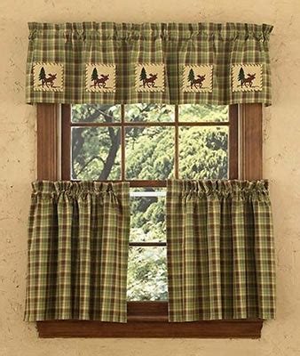 curtains for cabins country plaid curtains shop everything log homes