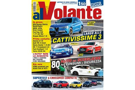 Rivista Al Volante by 200 In Edicola Il Nuovo Numero Di Alvolante