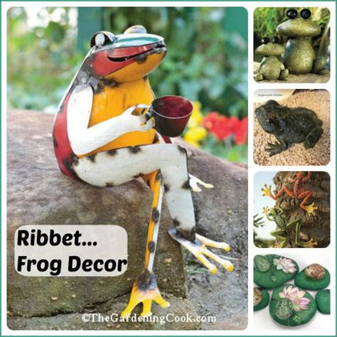 frogs   garden  home cute accents