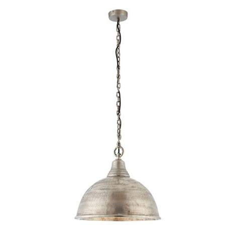 nesta antique silver pendant light 73133 the lighting