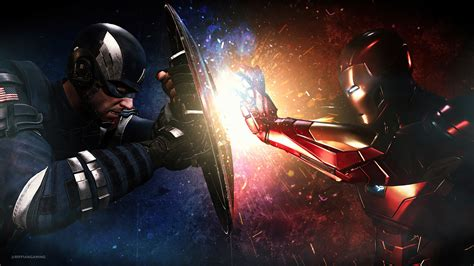The longer the fight goes on the more it favors moro since passive life energy drain would do midora in. 1920x1080 Captain America Vs Iron Man Fight 4k Laptop Full HD 1080P HD 4k Wallpapers, Images ...