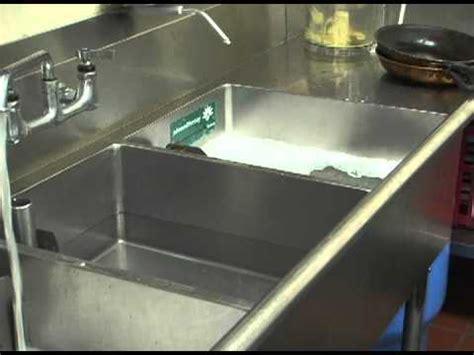 3 compartment sink dishwasher 3 sink dishwashing method landscapesafety com youtube