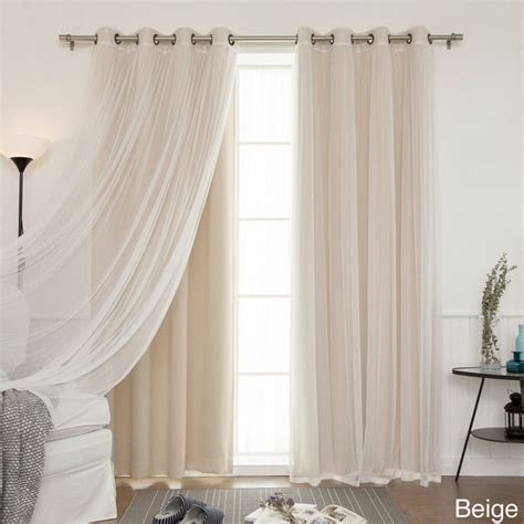 1000 ideas about tulle curtains on cheap