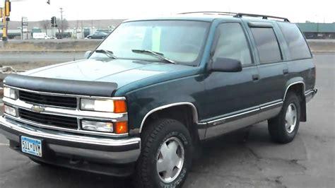 1996 Chevrolet Tahoe Ls, 4 Door Suv, 4x4, 57 Liter Votec