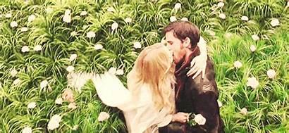 Kiss Scene Meadow Twilight Captain Shame Swan
