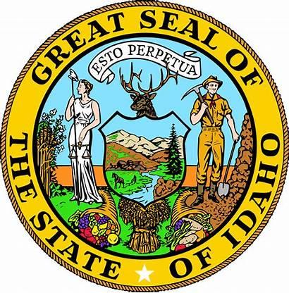Idaho Seal Wikipedia Flag Svg Wiki