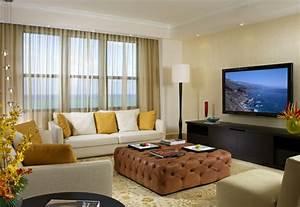 Fernseher An Der Wand : 65 vorschl ge f r dekoration im wohnzimmer ~ Frokenaadalensverden.com Haus und Dekorationen