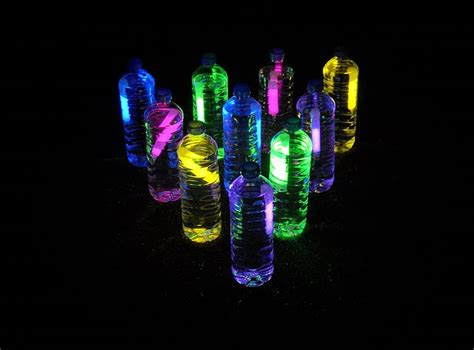 glow   dark bowling kix cereal sensory bottles