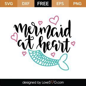 Create your diy shirts, decals, and much more using your cricut explore, silhouette and other cutting machines. Mermaid at Heart | Cricut, Svg files for cricut, Cricut design