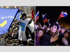 Facts only Kosovo vs Crimea 'Good Independence' vs 'Bad