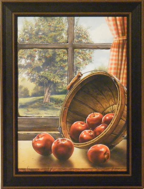 red delicious  doug knutson  framed print picture