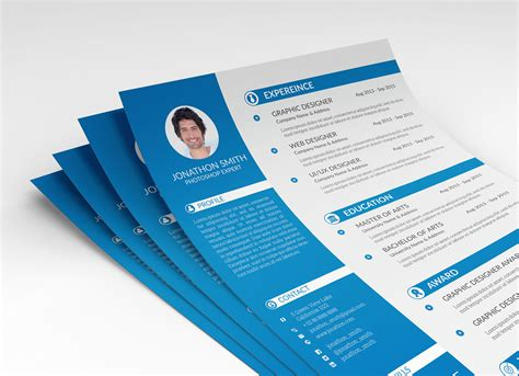 psd resume cv cover letter template  ui  ux designer good resume